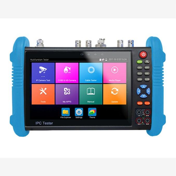 IPC9800 plus-شاشة كاميرا CCTV مقاس 7 بوصات ، PTZ ، 8MP ، TVI ، 8MP ، CVI ، 5MP ، AHD ، SDI ، مع تتبع كابل ، رقمي متعدد المقاييس