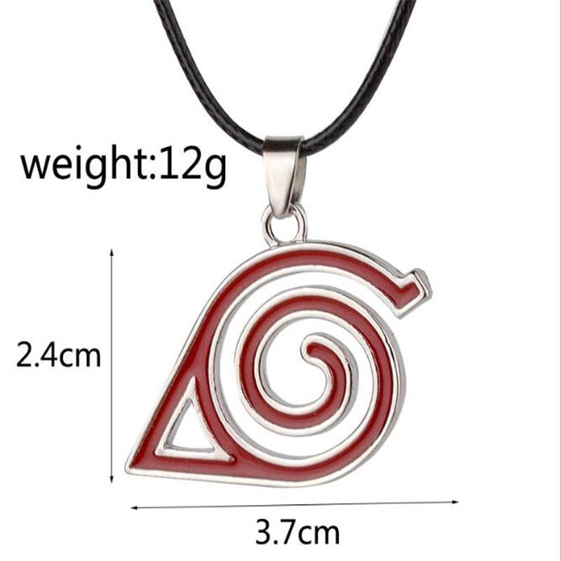 Anime NARUTO Uzumaki Naruto Cosplay Prop Kinder Erwachsene Konoha Symbol Keychain Uchiha Itachi Metall Anhänger Halskette