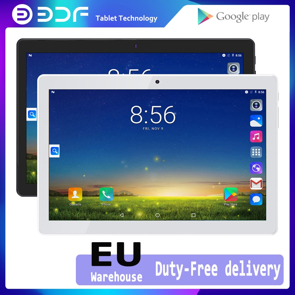 BDF 10 Inch Android 7.0 Tablet Quad Core Bluetooth WIFI Sim 3G phone Tablets Mobile 1GB/32GB Tablet PC mini Computer 7 8 9 inch