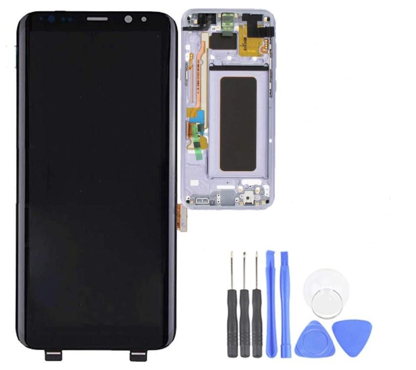 OLED LCD digitalizador pantalla táctil reemplazo de montaje para S8 + Plus 6,2 pulgadas