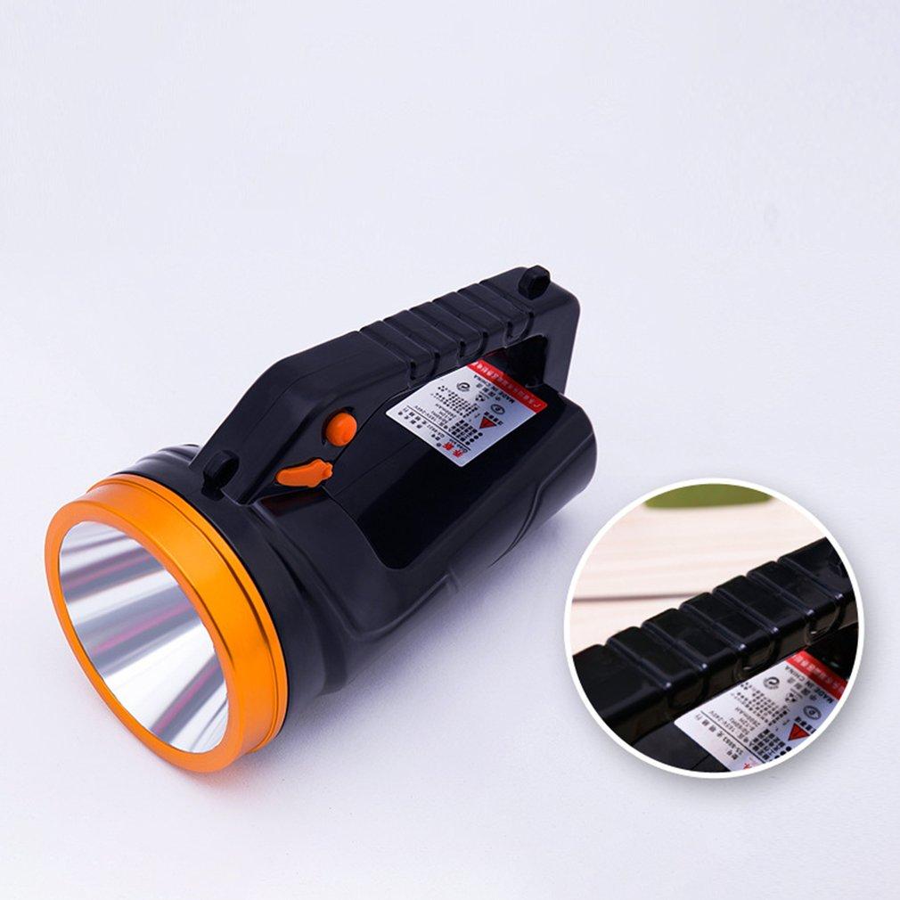 Reflector led portátil de mano superbrillante de 50W, linterna recargable para exteriores