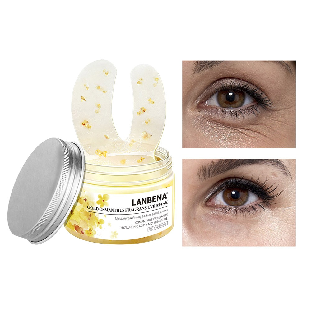 Eye Mask Hyaluronic Acid Eye Pad Osmanthus Eye Patch Retinol Sheet Mask Relieving Dark Circle Remove Anti Puffiness Skin Care