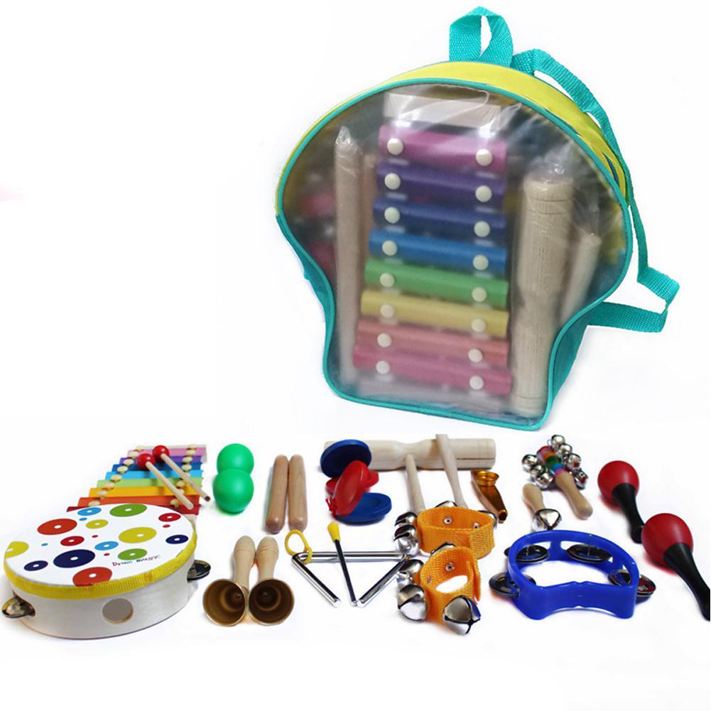 LeadingStar инструмент алюминиевая деревянная перкуссия барабанные палочки малыш раннего обучения музыкальная игрушка