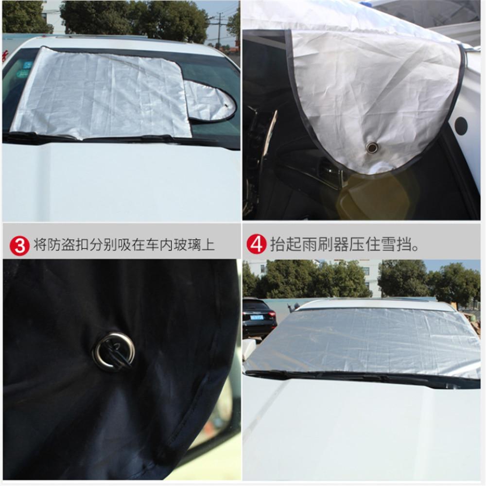 car Sunshade Snow Ice Protection Cover for Mitsubishi Asx Lancer 10 9 Outlander EX Pajero Sport Eclipse Carisma Galant