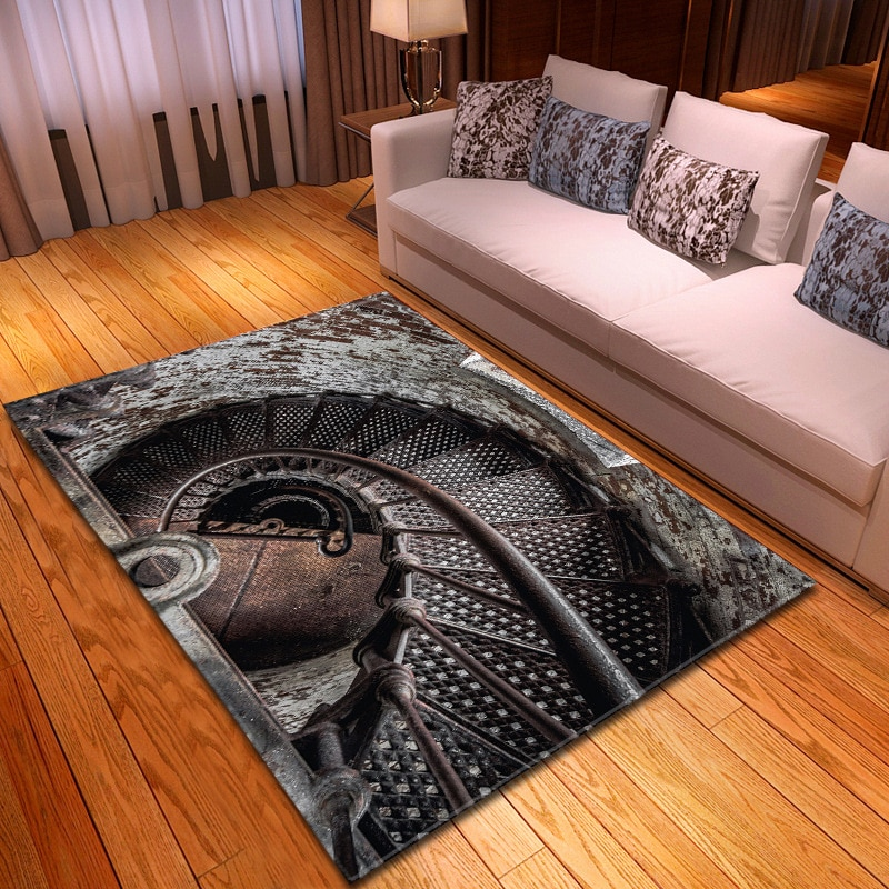 New living room bedroom carpet new carpet with 3D geometric pattern indoor Yoga rectangular carpet indoor non slip carpet