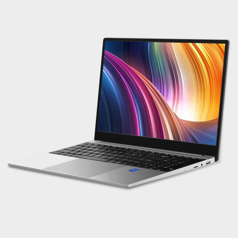 15.6 inch Gaming Laptop Dedicated card Intel core metal case laptop BT WIN 10 blacklit key free pc mouse usb slot 4G