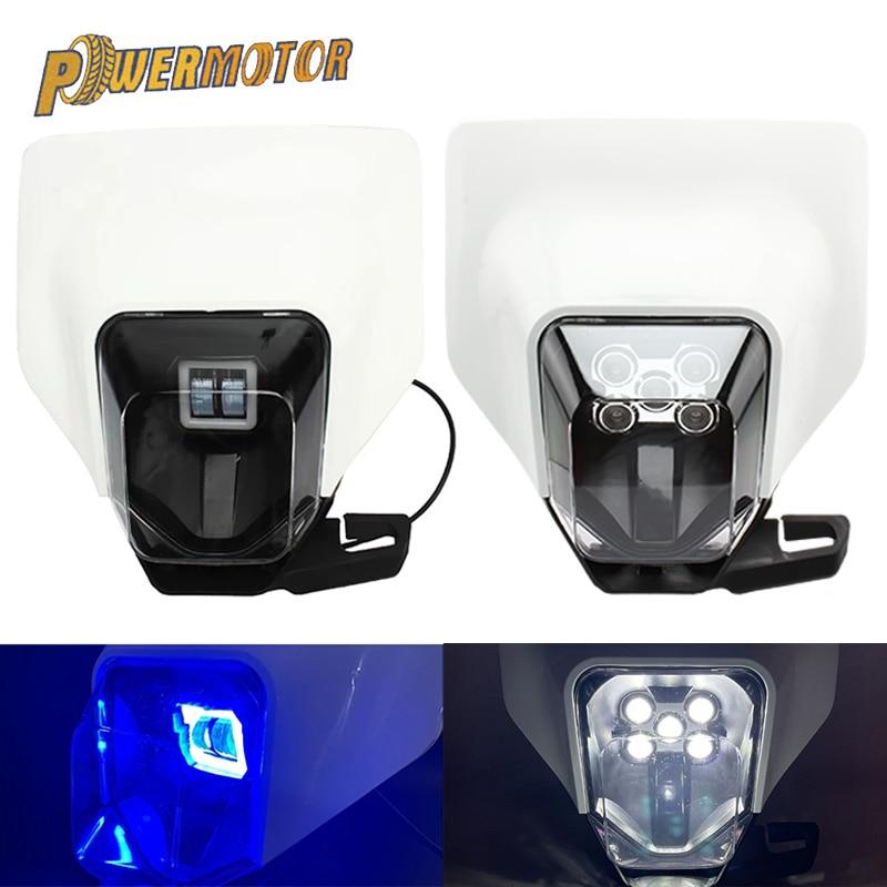 جديد دراجة نارية الصمام العلوي كشافات إضاءة أمامية ل Husqvarna TC TE TX FC FE FX 125 250 300 350 450 501 FC250 FE250 TE300
