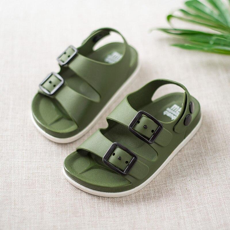 Sandalias de verano para niños pequeños antideslizantes para niños y niñas, zapatillas de playa ligeras para niños, zapatillas informales de 1 a 4 años