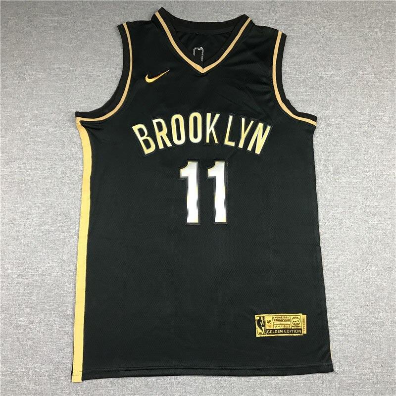 Camiseta NBA Oro Negro Design7 Kevin Durant Wade Curry Jersey de Irving...