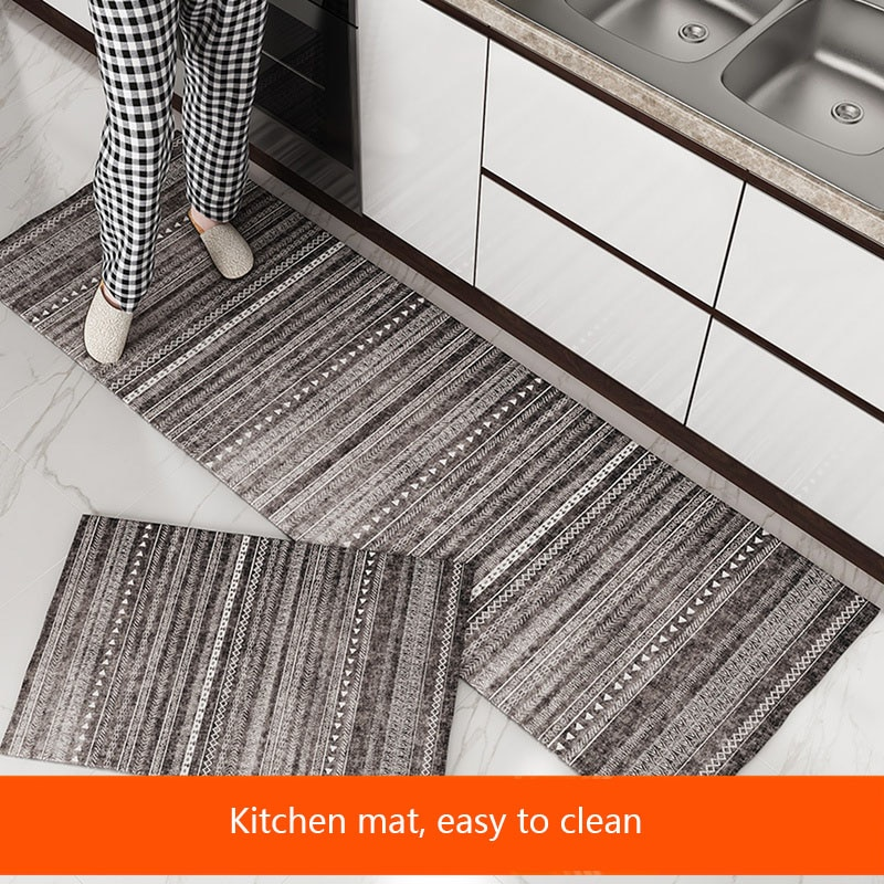 مخطط المطبخ حصيرة المطبوعة رقيقة الحمام السجاد بسيط الطابق حصيرة ممسحة المنزل الحديثة غرفة المعيشة منطقة البساط عدم الانزلاق المطبخ البساط