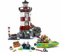 75903 Scooby Doo hanté phare ensemble animaux chien figurines Bela 10431 blocs de construction jouets pour enfants cadeaux