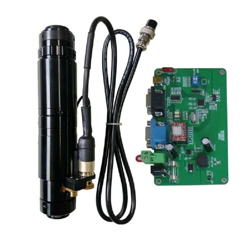 MZDH0850 High Resolution  monocular C Zoom monocular video microscope enlarge