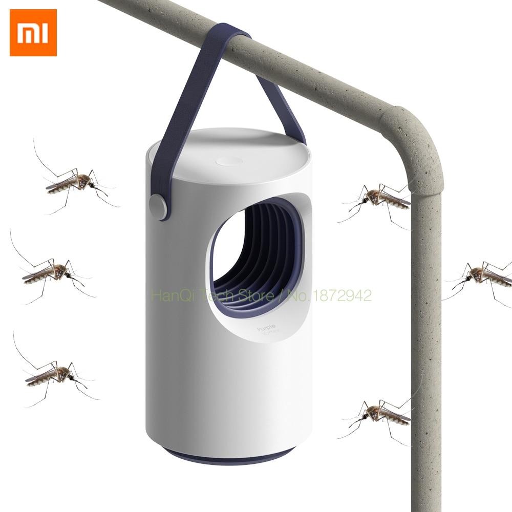 Оригинальный Xiaomi умный дом противомоскитная репеллент автоматический фотокатализатор москитный убийца низкий немой синий москитная лампа