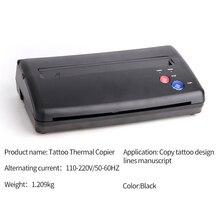 Professional Tattoo Stencil Transfer Thermal Copier Machine Printer Paper Make