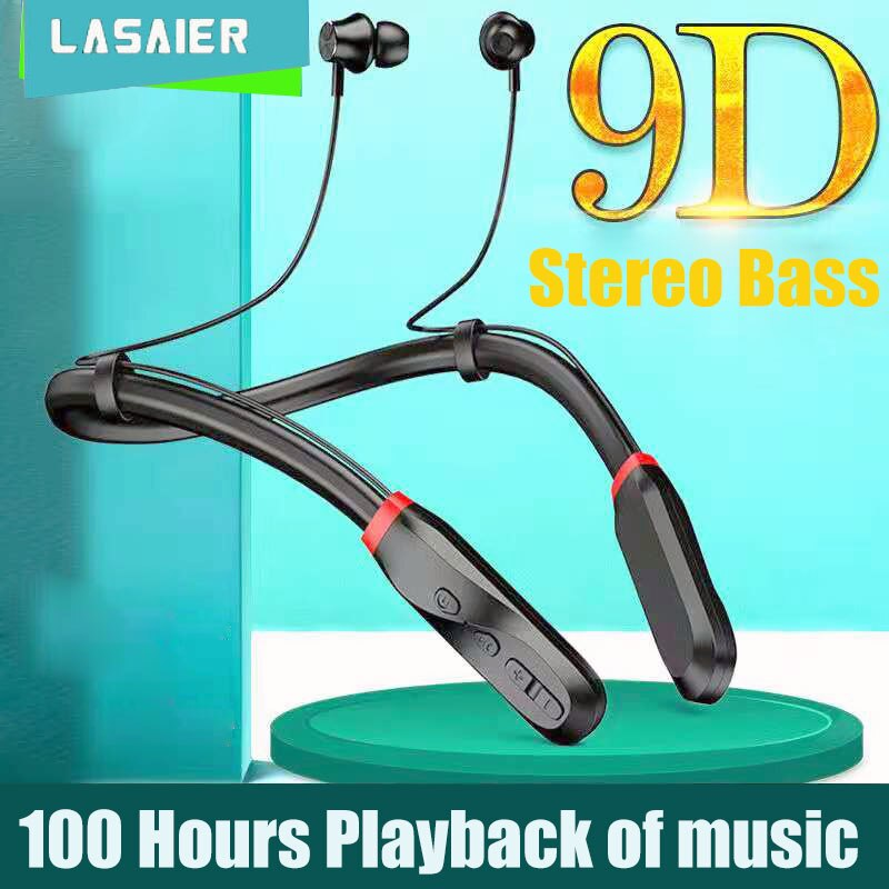 Auriculares inalámbricos por Bluetooth 100, cascos con sonido 9D Subwoofer estéreo, intrauditivos,...