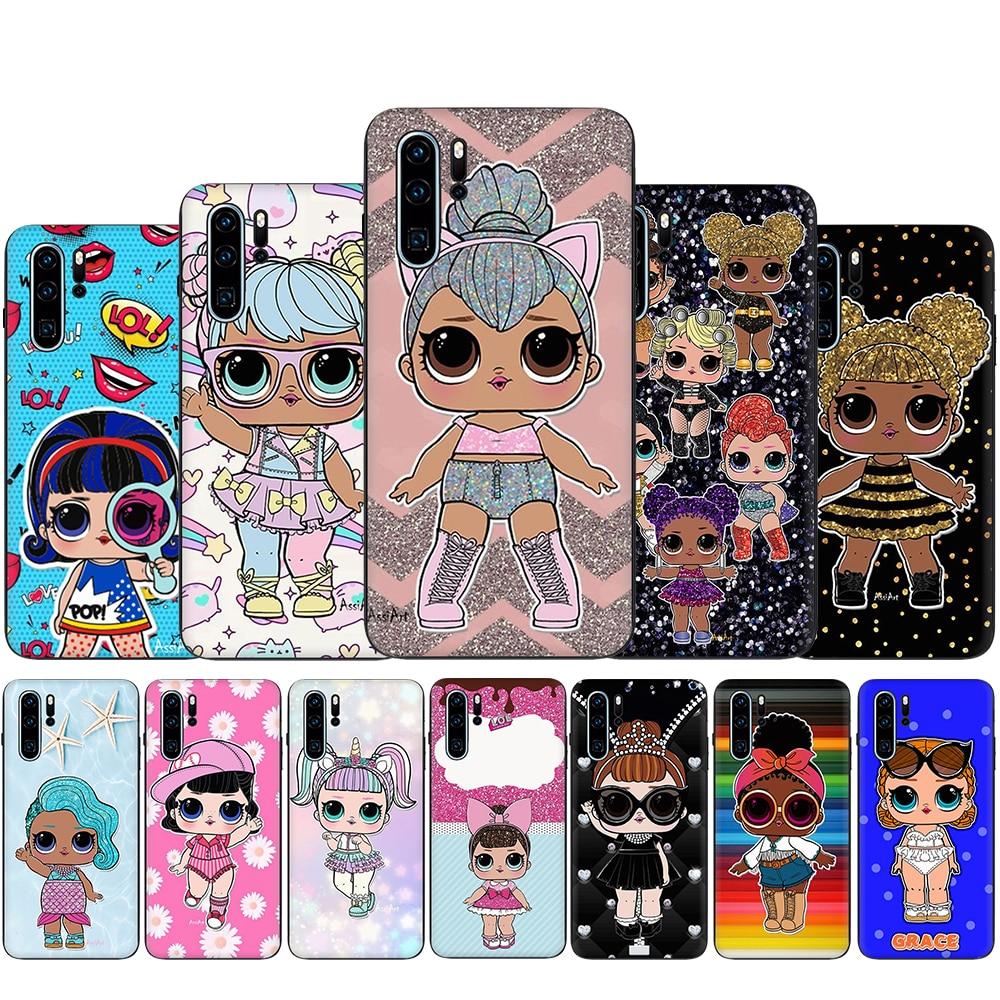 Lol dolls Silicone Phone CaSe for Huawei P8 P9 Lite Mini P10 P20 P30 P40 Pro Max P Smart Z Plus