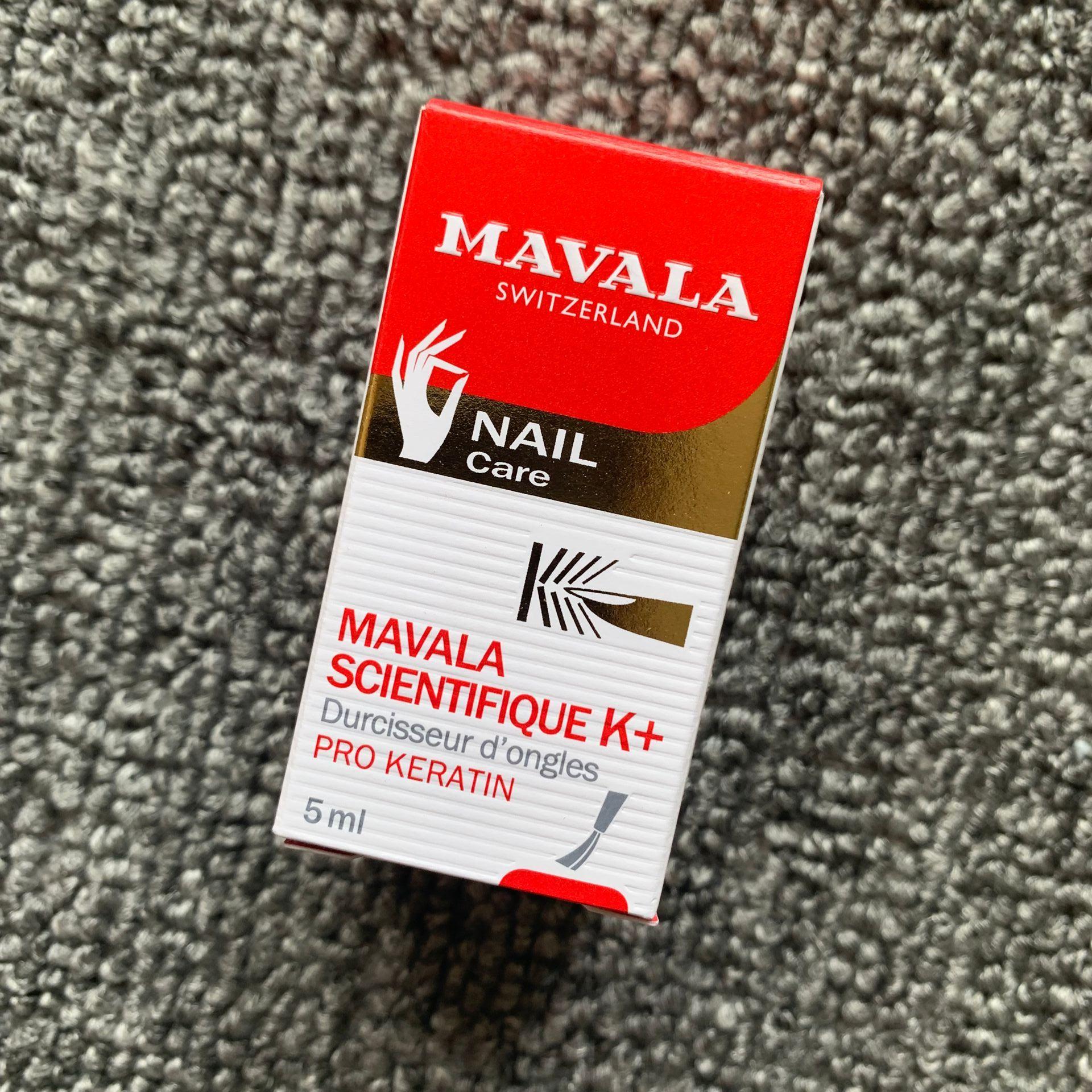 MAVALA-endurecedor de uñas ORIGINAL de 5ml, cienticoque suizo, penetrante