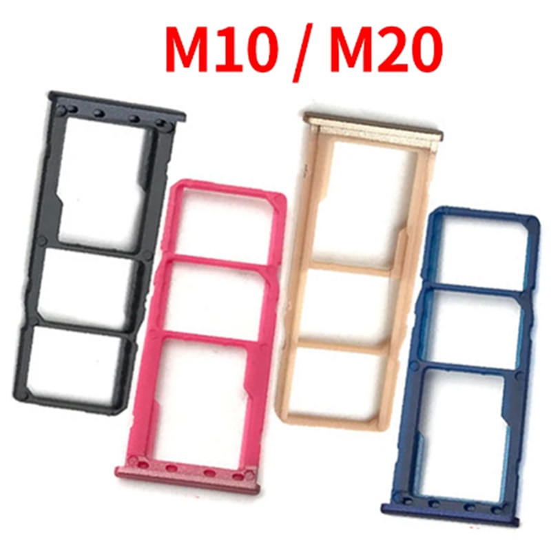 Holder Slot For Samsung Galaxy M10 M105F Dual&Single SIM Card Tray SD