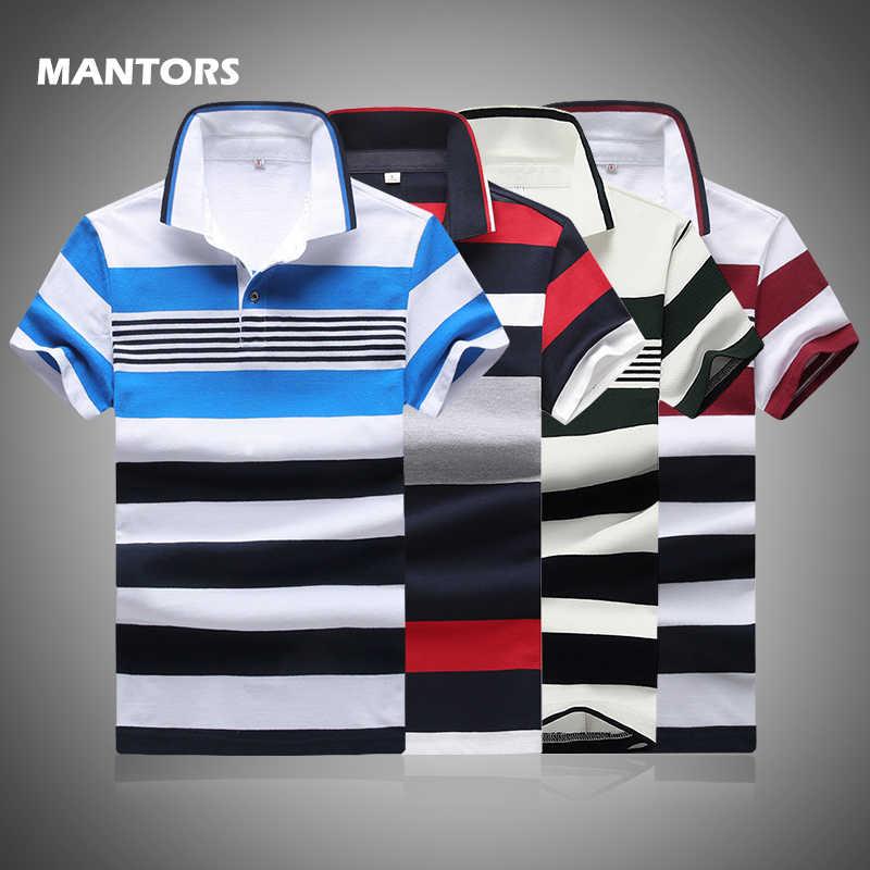 Summer Polo Shirt Men S Striped Polo Tops Casual Short Sleeve Cotton Polo Shirts Fashion Slim Fit Men Business Shirts Golf Shirt Polo Aliexpress