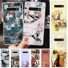 Given Japan Anime Phone Case Transparent Phone Case For Samsung S10 Plus S10 E(lite) S7 S8 Edge