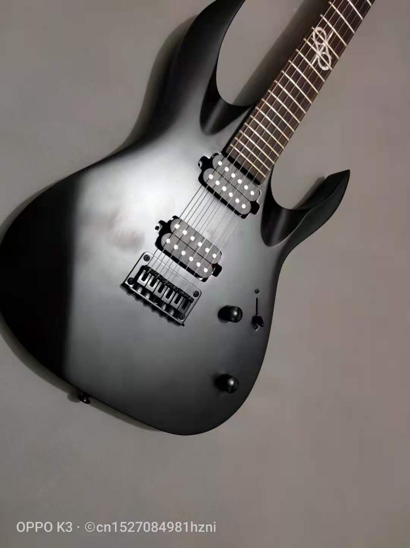 2020 new matte 6 string electric guitar, black hardware, free shipping enlarge