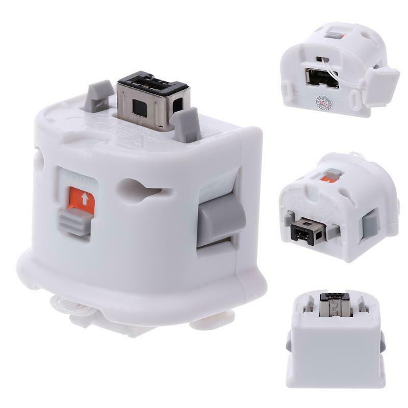Acelerador com Luva de Silicone para Nintendo Hobbylane Sensor Remoto Contoller Acelerador Usb Wii