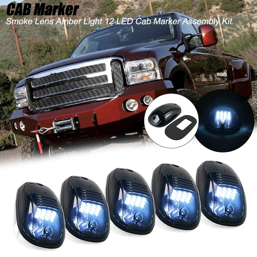 5 uds taxi techo marcador superior luces lámpara para Dodge Ram 1500, 2500, 3500, 4000, 5500 Ford Ranger Ford F100 F-150 F-250 F-350 F-450