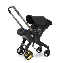 Cochecito de bebé 3 en 1 cochecito de bebé recién nacido Moisés Wagen Sistema de viaje portátil asiento de coche