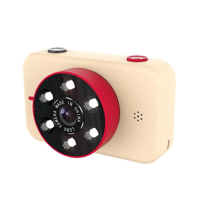 Nueva mini cámara digital para niños 4K HD Cámara dual frontal y trasera 50 millones de píxeles cámara digital para niños X17 juguetes para bebés regalo
