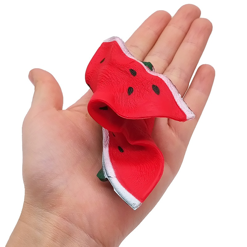 Slow Rebound Fidget Toys Cute Toy Squishy Smiley Adult Decompression Squeeze Slow Rising Watermelon Christmas Gift For Kids enlarge