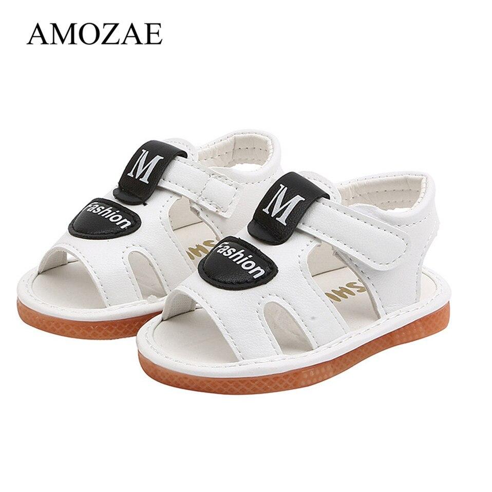 Детские первые ходунки с мягкой подошвой, детская пляжная обувь, детская Удобная Нескользящая Уличная обувь для маленьких девочек и мальчи...