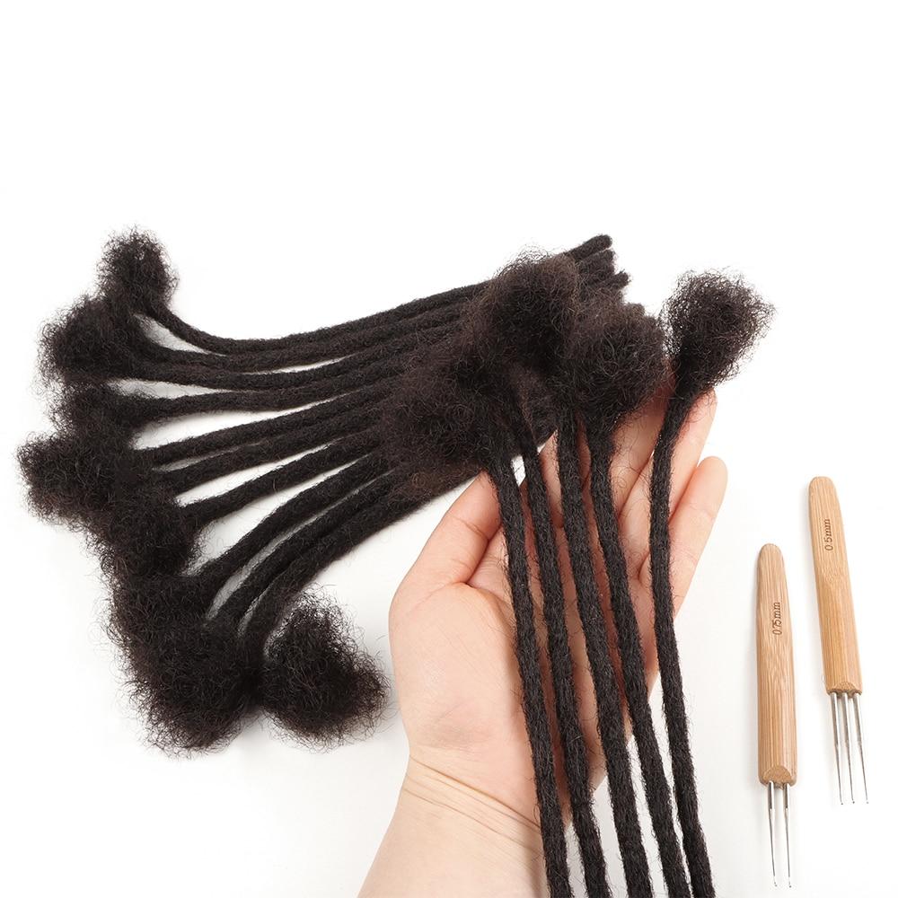 Оптовая продажа, недорогие красные человеческие волосы для наращивания дредов, красочные афро кудрявые локоны