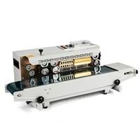 auto sealing machine horizontal continuous sealer constant heat plastic