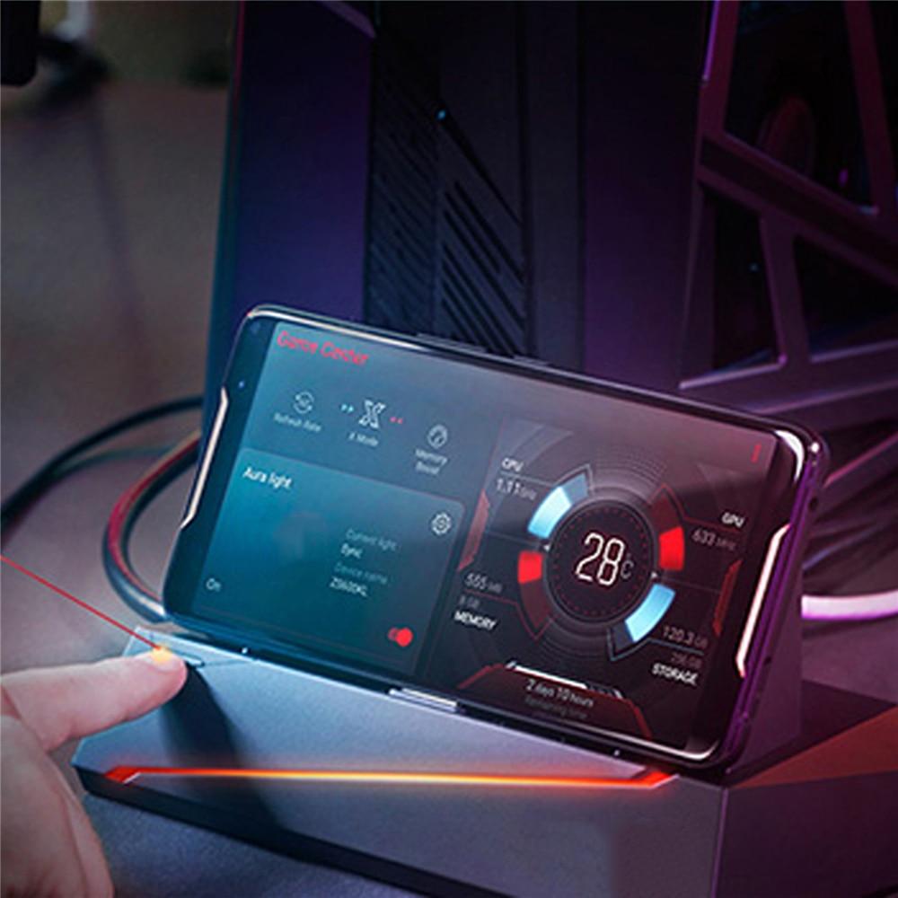 محول لـ ASUS ROG Phone 2 ZS660KL ، قاعدة ألعاب ، حامل مكتب ، ملحقات ألعاب أصلية