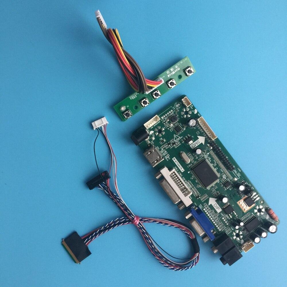 كيت ل LP140WH2-TLEA DVI لوحة LED LCD الصوت بطاقة DIY 14
