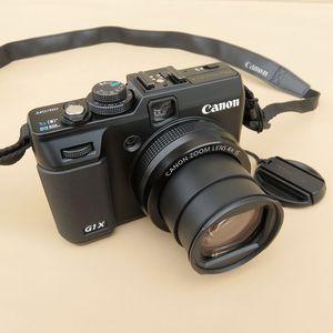 Использованная цифровая камера Canon PowerShot G1 X 14,3 МП CMOS