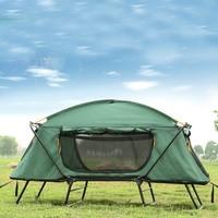 Складная палатка в багажник для выездов на природу, рассчитана на двоих человек