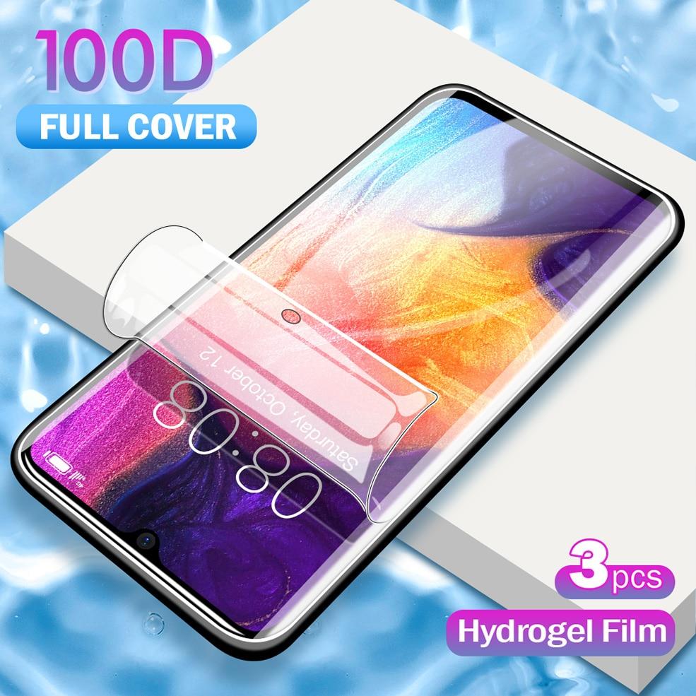 100D hidrogel de película para Samsung Galaxy Nota 10 Pro Protector de pantalla para S11 S10 más M10 M20 M30 A10 A10S A20 A70 HD Blu-ray de la película