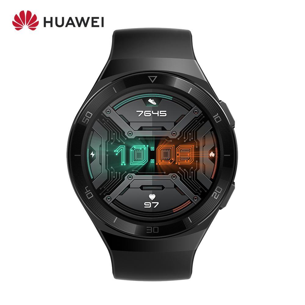 Review Original HUAWEI WATCH GT 2e 1.39inch AMOLED 5ATM Smart Watch 2 Weeks Long Standby Sport Watch GT Lite Original NFC