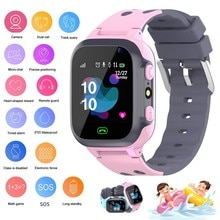 New children's Waterproof Kids Smart Watch LBS SOS Antil-lost Smartwatch Baby 2G SIM Card Clock Call
