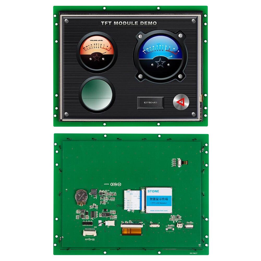Módulo TFT LCD 10,4 pulgadas HMI visualización pantalla táctil resistiva con Software + controlador