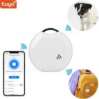 Tuya Smart Life Bluetooth трекер, смарт-бирка, поиск ключей и локатор для кошельков, багажа, домашних животных и многое другое, модный мини-дизайн