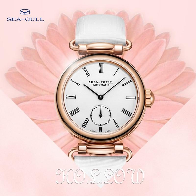 النورس السيدات التلقائي ساعة ميكانيكية ساعة نسائية عصرية رقيقة وخفيفة ساعة ميكانيكية وقت الإلهة 813.11.6065L