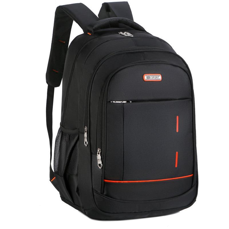 backpack men s korean wave casual backpack men s bags computer bags large and medium sized student bags fashion travel bags New Fashion Travel Backpack School Men Bags For Teenager Backpack female College Notebook Computer Bags Large Capacity  Hot Sell