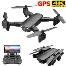 F6 GPS Drone 4K Camera HD FPV Drones with Follow Me 5G WiFi Optical Flow Foldable RC Quadcopter Prof