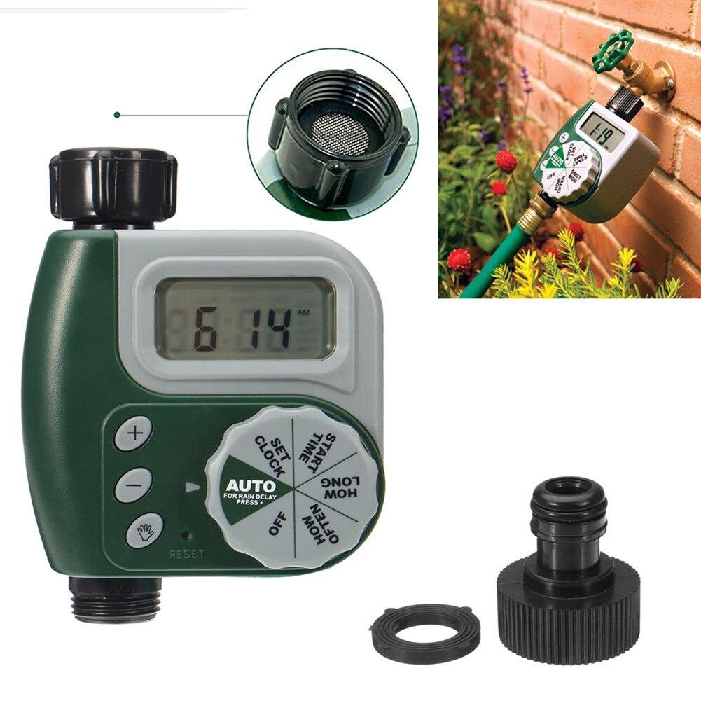 Temporizador de agua para riego de jardín, grifo electrónico automático para el hogar, controlador de temporizador, suministros para riego de jardín doméstico