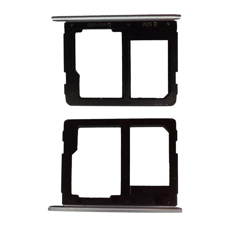 SIM Card Tray SD For Samsung Galaxy A7 2016 A710 Slot Holder Dual Reader Socket