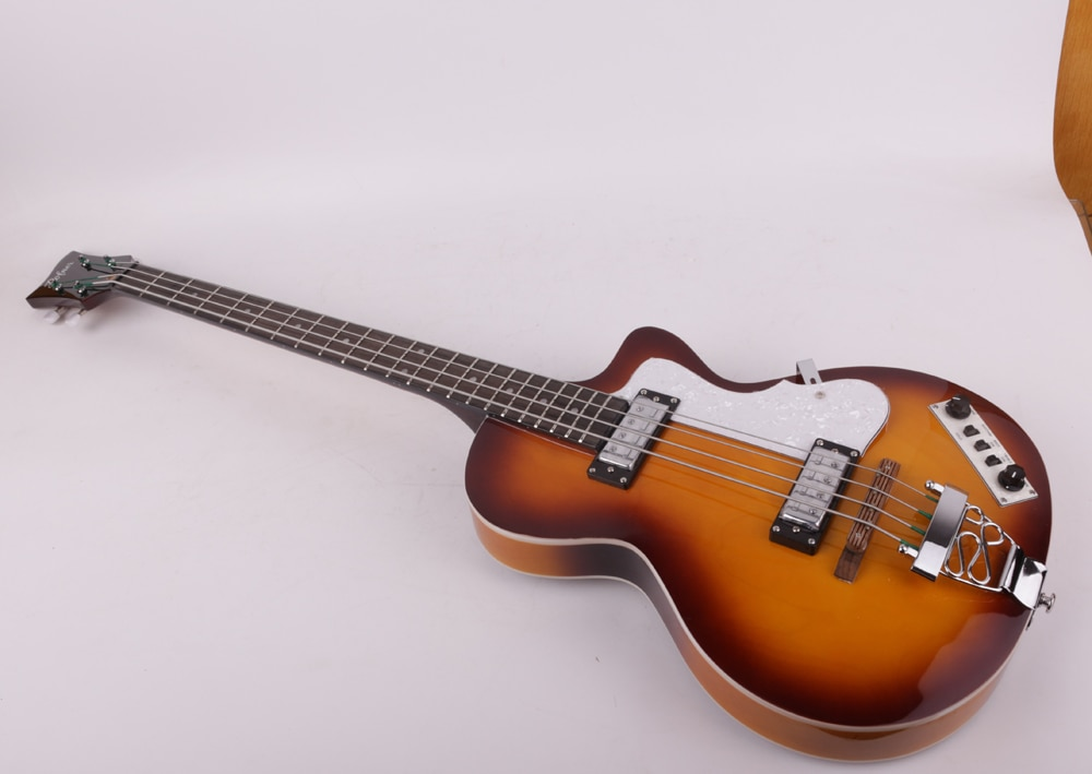good quality 4 four string electric bass guitar free shipping enlarge