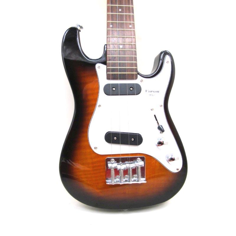 أكثر لون ST تينور الكهربائية القيثارة 26 بوصة الصلبة ميني جيتار هاواي 4 سلاسل الصلب القيثارة الجيتار