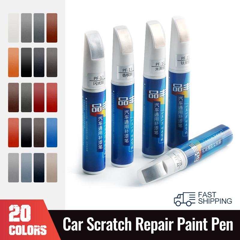 Ручка 12 мл для ремонта царапин, универсальная Водонепроницаемая ручка для ремонта автомобиля, 20 цветов
